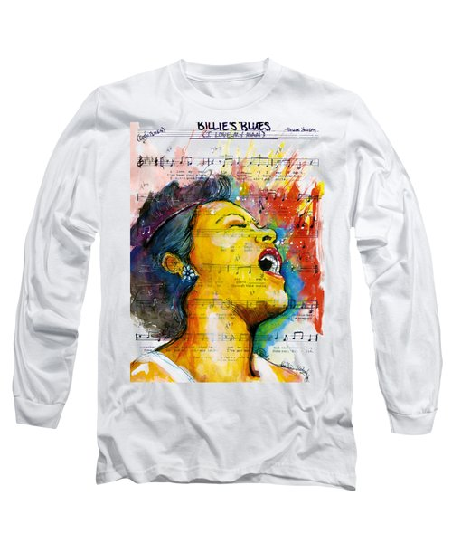 Billie's Blues Long Sleeve T-Shirt