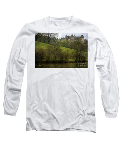 Biltmore Estate At Dusk Long Sleeve T-Shirt