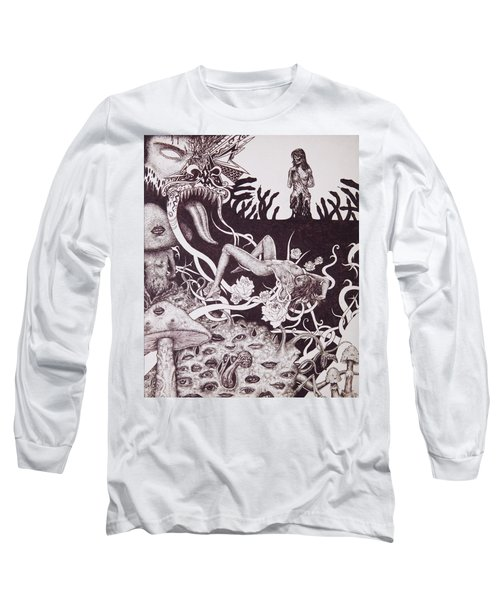 Binah Qlippoth Long Sleeve T-Shirt
