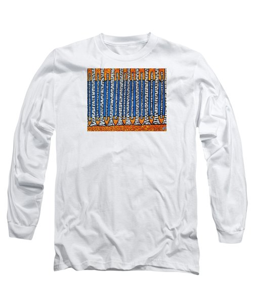 Birch Forest Long Sleeve T-Shirt by Jean Haynes
