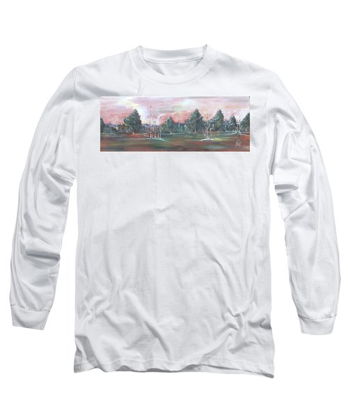 Birch Grove Long Sleeve T-Shirt by Pat Purdy