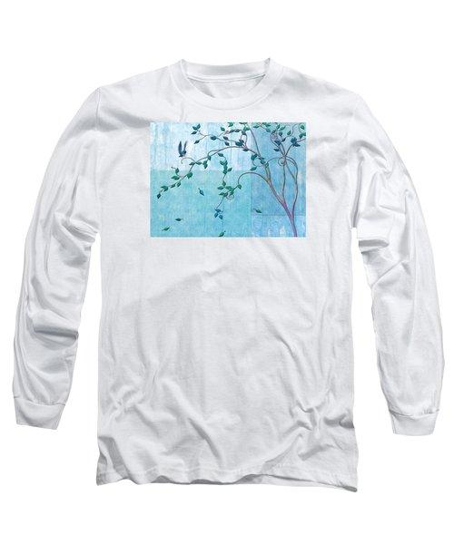 Bird In A Tree-2 Long Sleeve T-Shirt