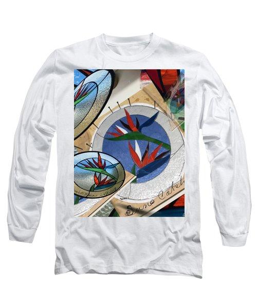 Bird Of Pardise Starling Saver Long Sleeve T-Shirt