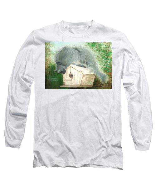 Birdie In The Hole Long Sleeve T-Shirt