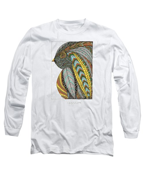 Bird_inquisitive_s007 Long Sleeve T-Shirt