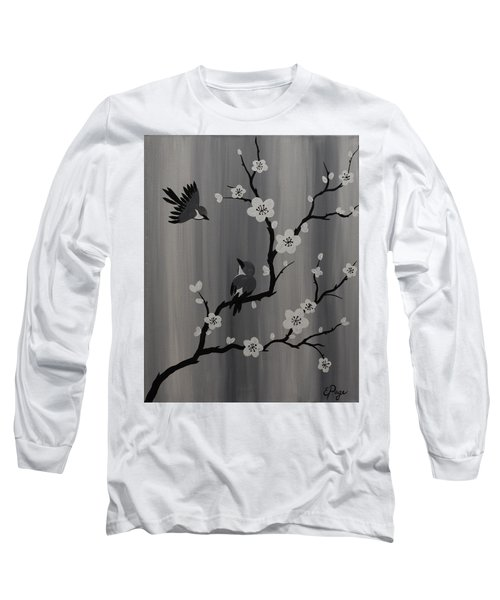 Birds And Blossoms Long Sleeve T-Shirt