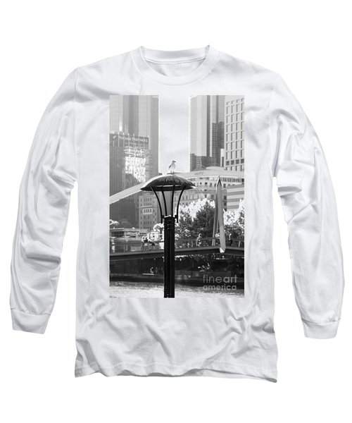 Birds Eye View Of The City Long Sleeve T-Shirt