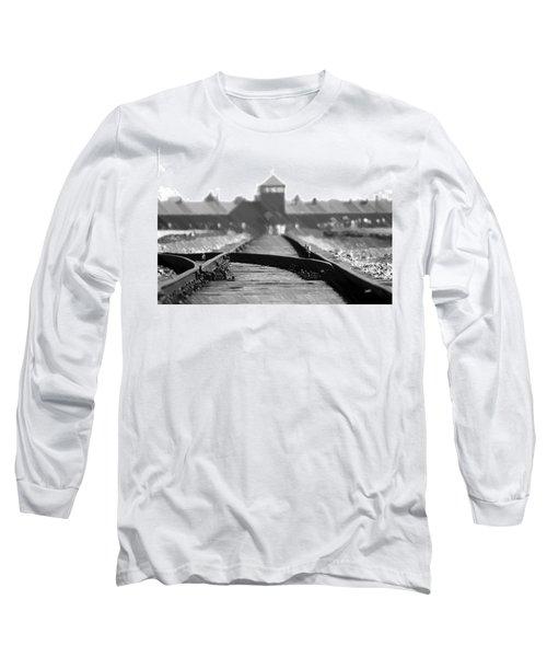 Birkenau / Auschwitz Railhead - Pol402324 Long Sleeve T-Shirt