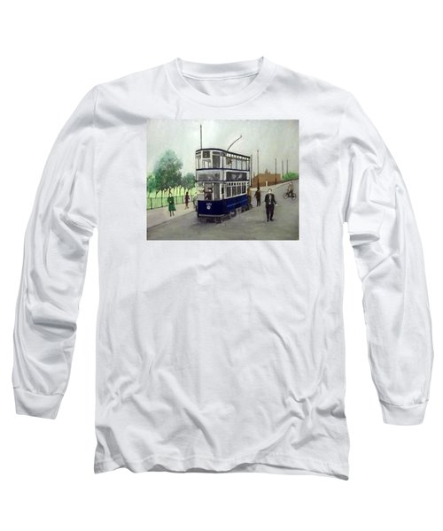 Birmingham Tram With Figures Long Sleeve T-Shirt