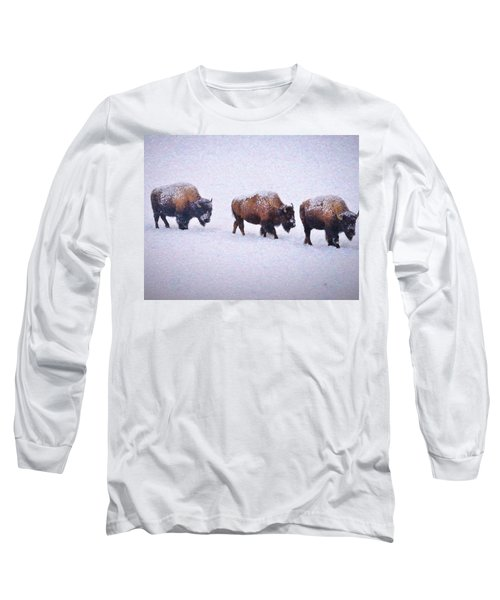 Bison March Impressions Long Sleeve T-Shirt