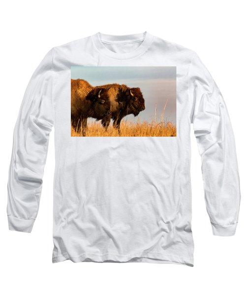 Bison Pair Long Sleeve T-Shirt