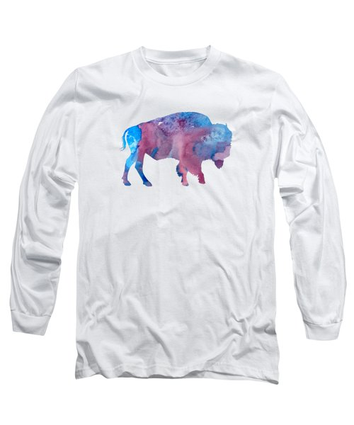 Bison Silhouette Long Sleeve T-Shirt