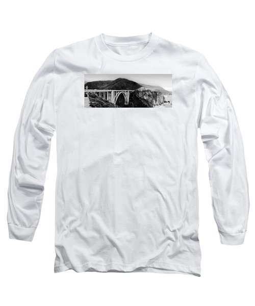 Bixby Bridge - Big Sur - California Long Sleeve T-Shirt