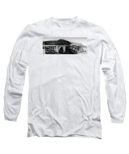 Bixby Bridge - Big Sur - California Long Sleeve T-Shirt