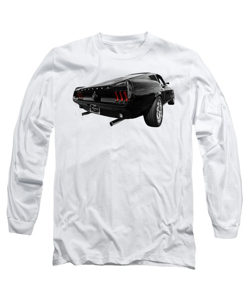 Black 1967 Mustang Long Sleeve T-Shirt