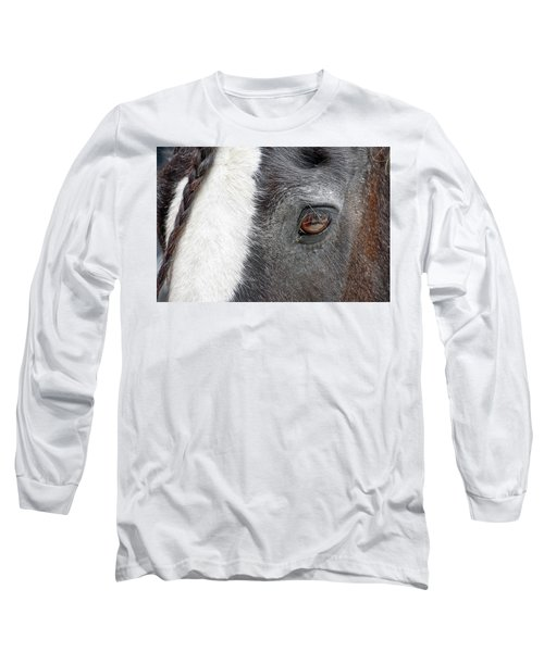 Black And White Beauty Long Sleeve T-Shirt