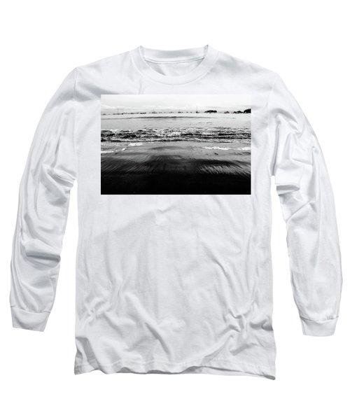 Black Beach  Long Sleeve T-Shirt