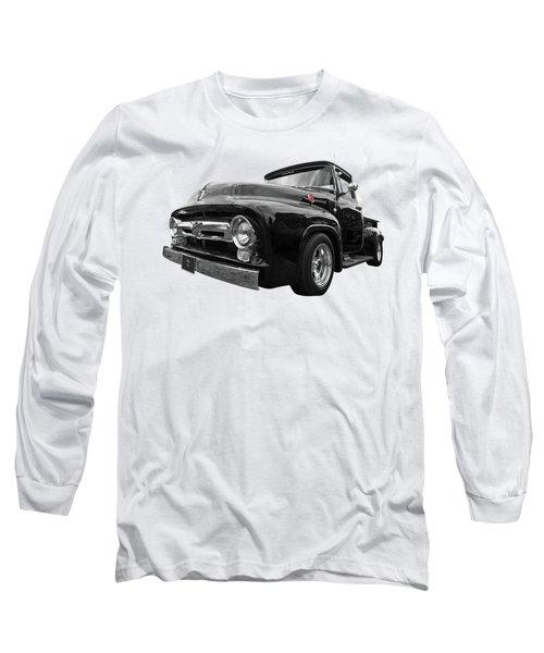 Black Beauty - 1956 Ford F100 Long Sleeve T-Shirt