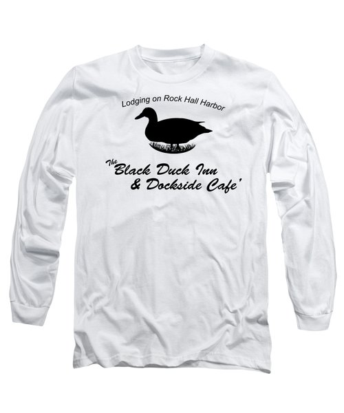 Black Duck Inn Apparel Long Sleeve T-Shirt by Loretta Luglio