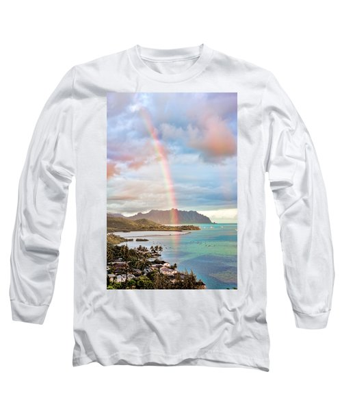 Black Friday Rainbow Long Sleeve T-Shirt