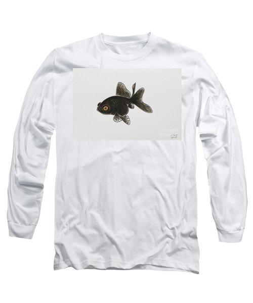 Black Moor Long Sleeve T-Shirt by Stefanie Forck