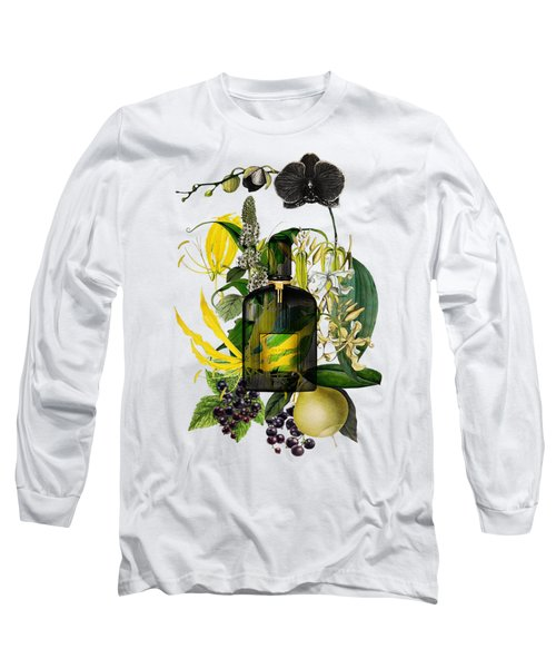 Black Orchid Notes - By Diana Van Long Sleeve T-Shirt