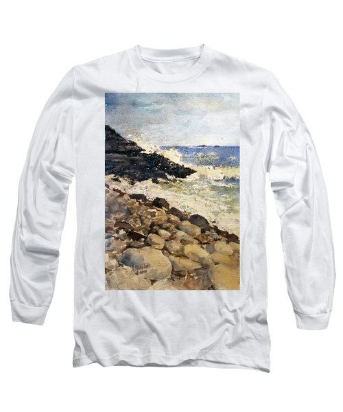 Black Rocks - Lake Superior Long Sleeve T-Shirt