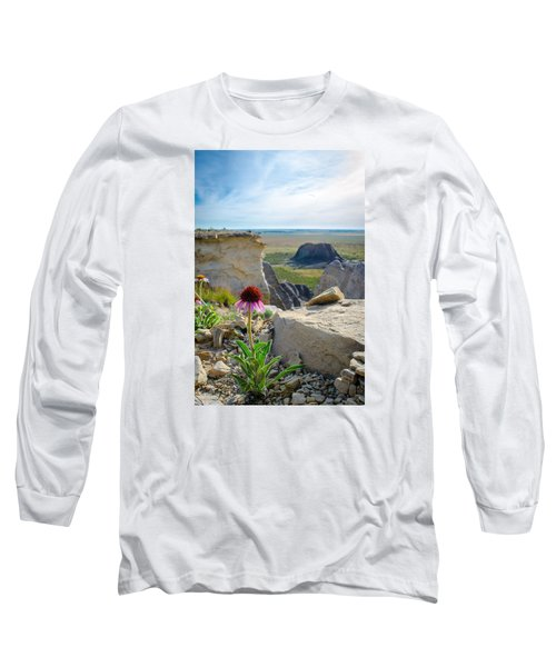Black Sampson In The Badlands Long Sleeve T-Shirt