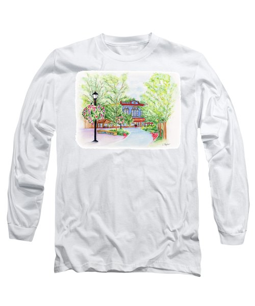 Black Sheep On The Plaza Long Sleeve T-Shirt