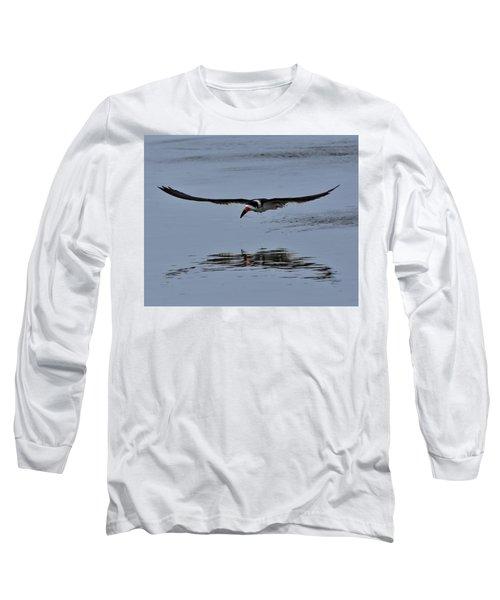Black Skimmer Long Sleeve T-Shirt