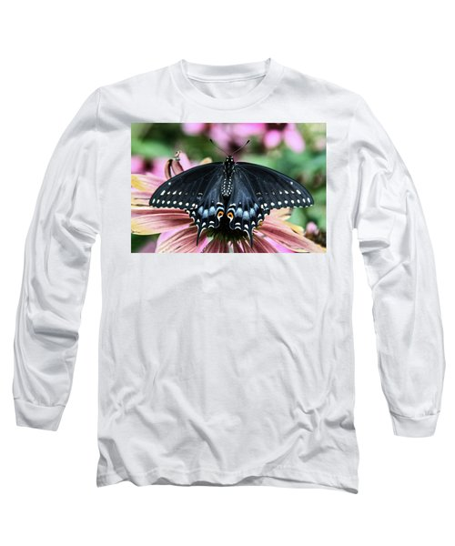 Black Swallowtail 3 Long Sleeve T-Shirt
