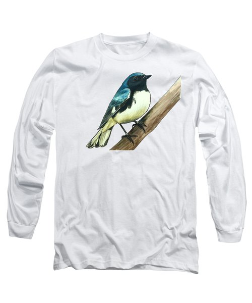 Black-throated Blue Warbler Long Sleeve T-Shirt