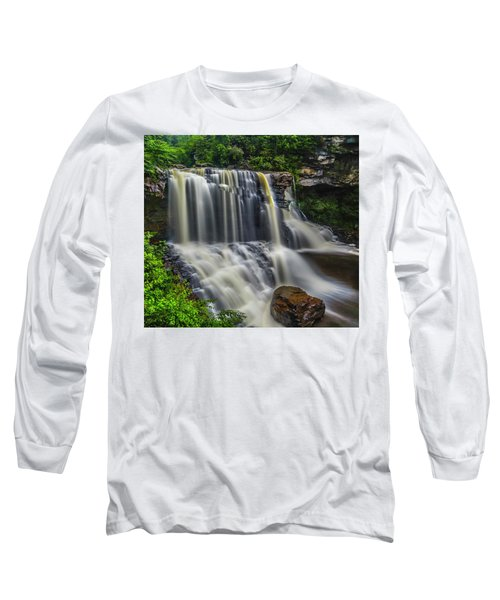 Black Water Falls Long Sleeve T-Shirt