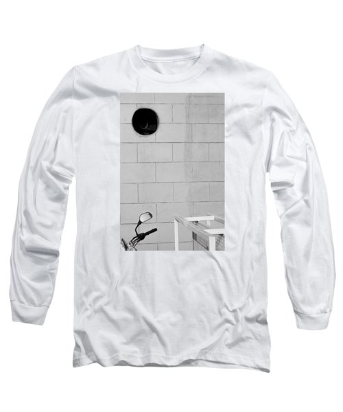 Long Sleeve T-Shirt featuring the photograph Black White Grey by Prakash Ghai