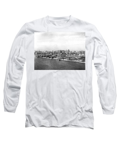 Blackwells Island In Nyc Long Sleeve T-Shirt