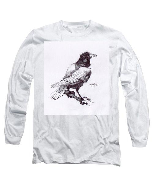 Sketch For Black  Long Sleeve T-Shirt