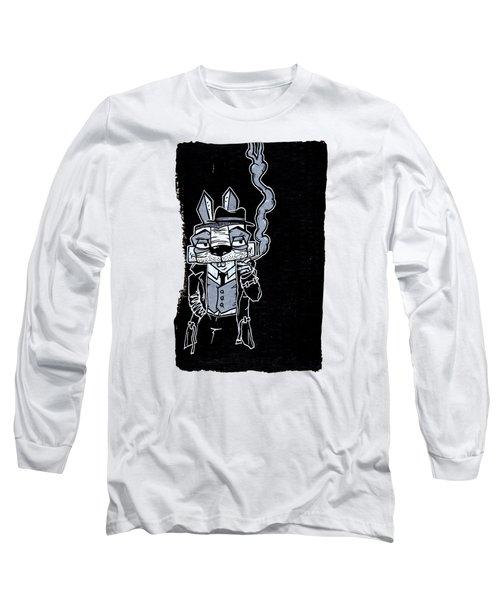 Blake Burns Detective Bunny Long Sleeve T-Shirt
