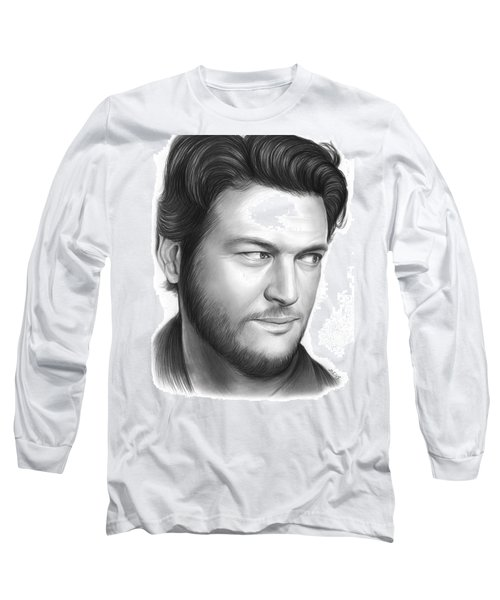 Blake Shelton Long Sleeve T-Shirt