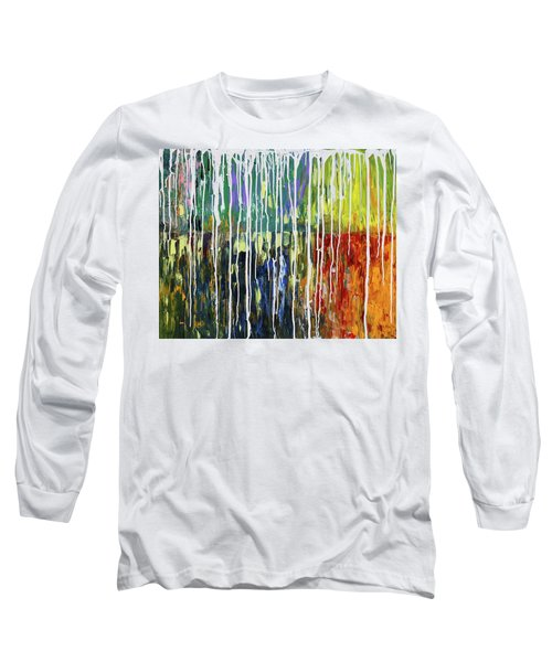 Bleached Long Sleeve T-Shirt