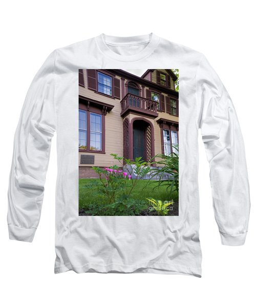 Bleeding Hearts At General Chamberlain's House  -50587 Long Sleeve T-Shirt