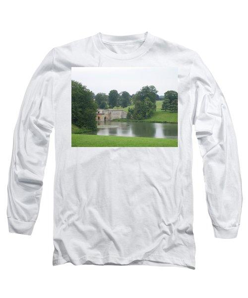Blenheim Palace Lake Long Sleeve T-Shirt