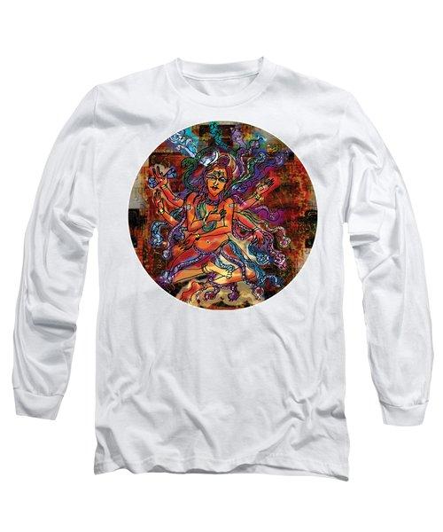 Blessing Shiva Long Sleeve T-Shirt