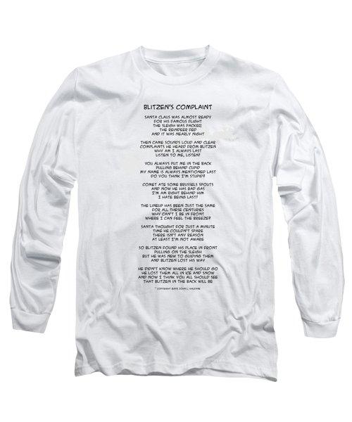 Blitzens Complaint Long Sleeve T-Shirt