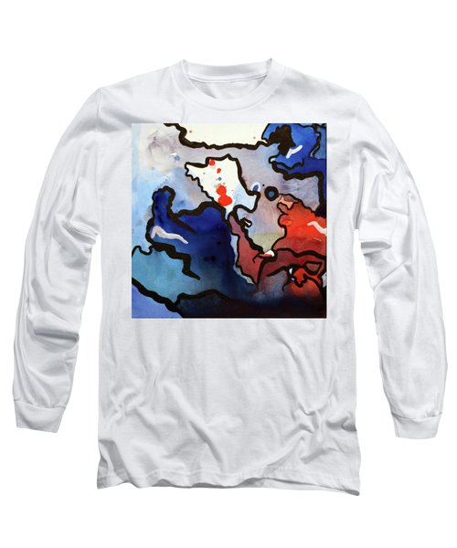 Blood In The Water 1 Of 4 Long Sleeve T-Shirt