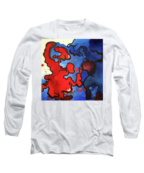 Blood In The Water 3 Of 4 Long Sleeve T-Shirt
