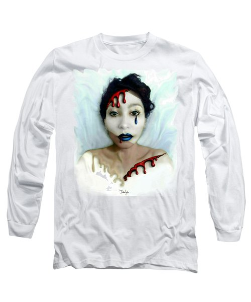 Blood Sweat Tears Faced Long Sleeve T-Shirt