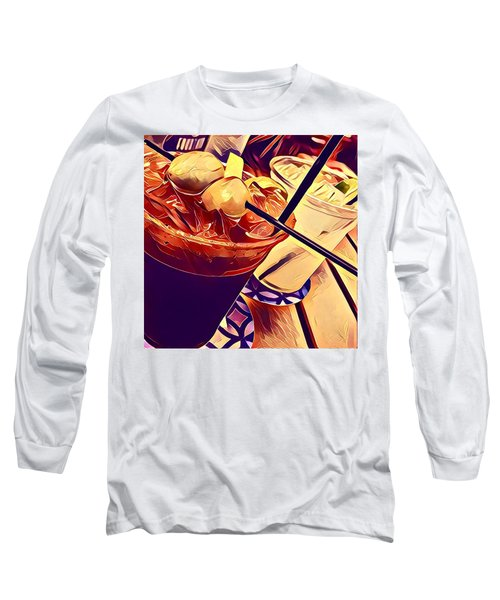 Bloody Mary And Moscow Mule Long Sleeve T-Shirt by Frush Photos