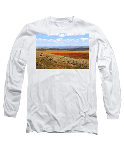 Blooming Season In Antelope Valley Long Sleeve T-Shirt