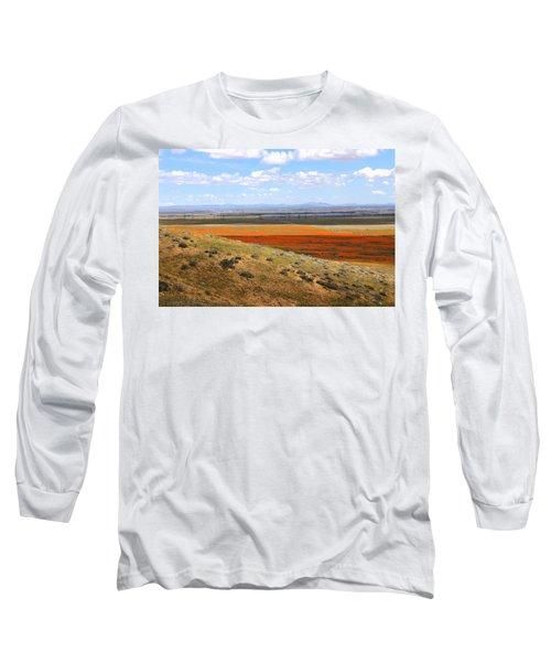 Blooming Season In Antelope Valley Long Sleeve T-Shirt