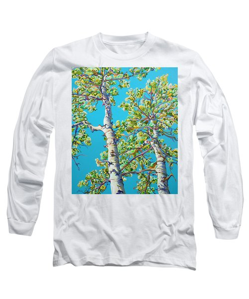 Blossoming Creativitree Long Sleeve T-Shirt